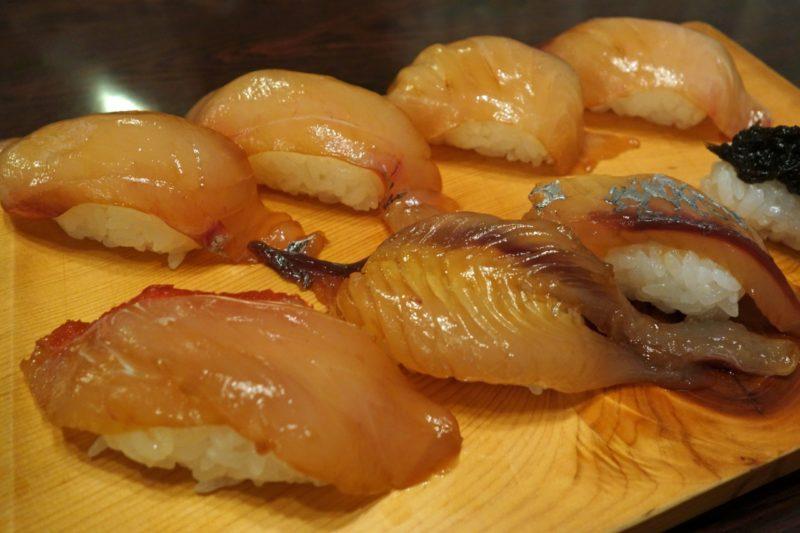 八丈島のグルメといえば島寿司