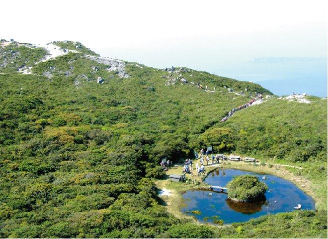 神津島 天上山