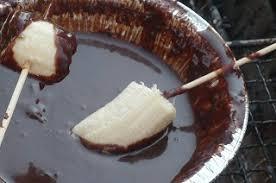チョコレートフォンデュ BBQ